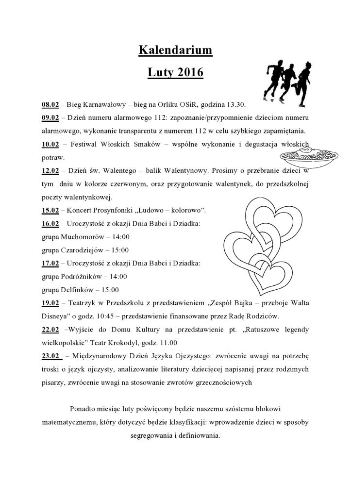 Kalendarium luty 2016 Przeźmierowo-page0001
