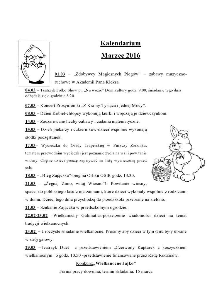 Kalendarium marzec 2016 PrzeĹşmierowo-page0001