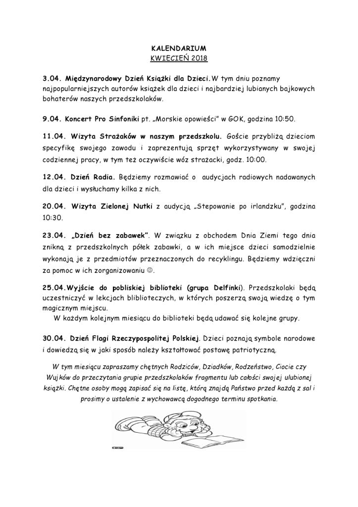 KALENDARIUM kwiecien 2018-page0001